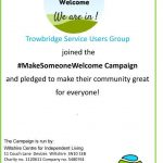 Hashtag Make Someone Welcome Project
