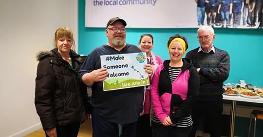 #MakeSomeoneWelcome update! Trowbridge Service User Group (@AdminTug) have signed up to our fav campaign... What fab group.. #peersupport in action! #goodlife They're in!